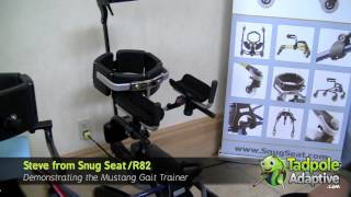 Tadpole Adaptive: Snug Seat/R82 Mustang Special Needs Gait Trainer