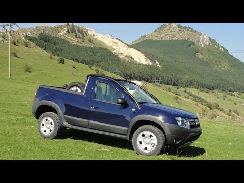 new dacia duster pick up is real but only for fleet use youtube. Black Bedroom Furniture Sets. Home Design Ideas