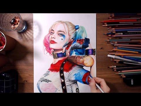 смотрите сегодня Comment Dessiner Harley Quinn Version Chibi