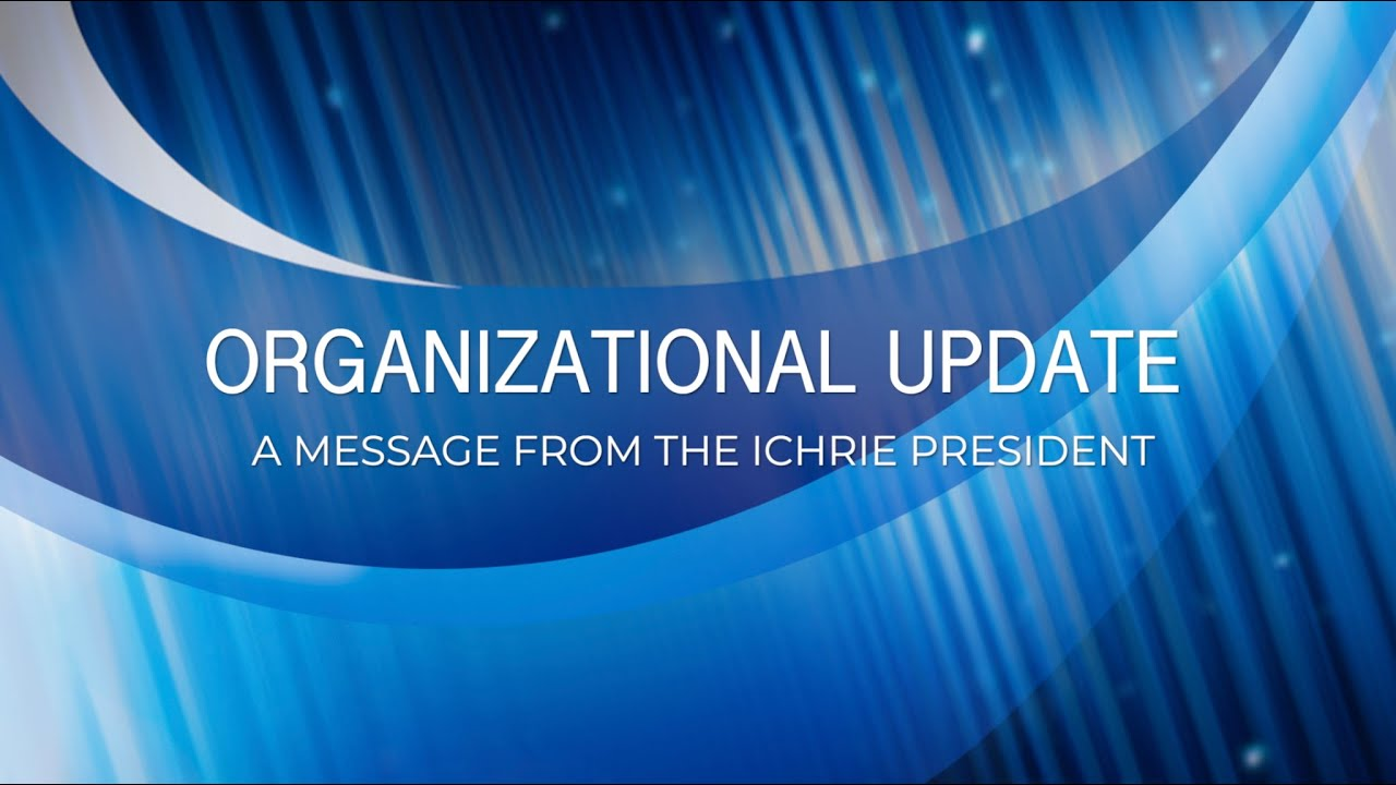 Download Message from International CHRIE's President