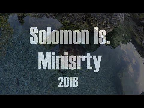CCC Solomon Islands Ministry Trip 2016