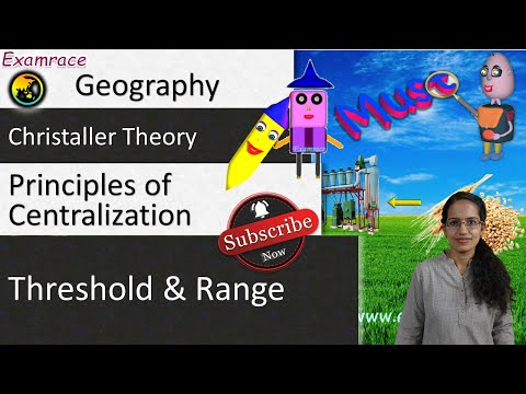 Christaller Central Place Theory: Fundamentals of Geography