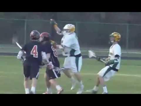 Bradley Jones' defense lacrosse clips for Queen Annes County High School