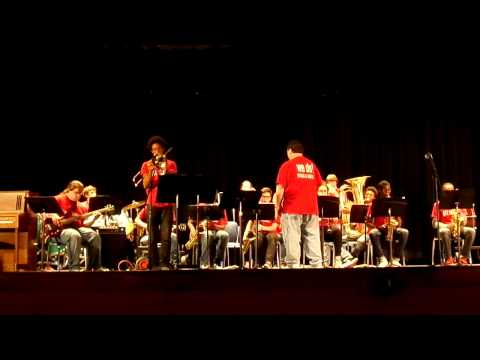 Us - Nyack High School Jazz Band - Music in the Parks May 1, 2015