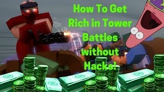 ✅How To Get Unlimited Money ✅In Tower Battles✅ Legit 100%✅Real (Working)