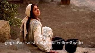 Ave Maria auf Aramäisch, die Muttersprache Jesu Christi auf Erden