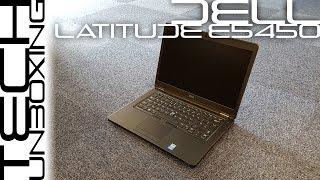 Dell Latitude E5450 Unboxing
