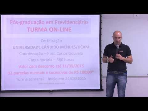 Deu a louca no Prof. Carlos - Pós Previdenciário - R$ 99,00/mensais