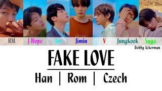 BTS - Fake Love (Han|Rom|Czech)