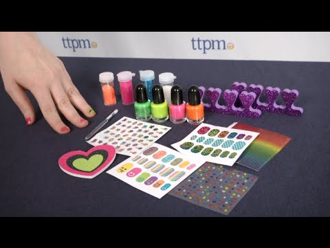 2b8ee7b0f Ultimate Nail Glam Salon from Alex Toys - YouTube