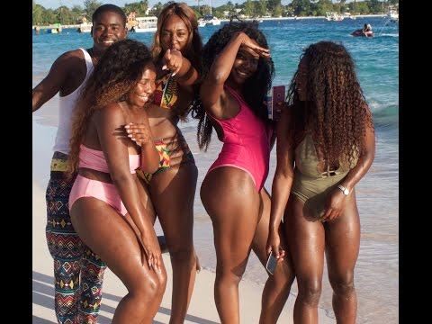 GIRLS GONE WILD IN BARBADOS !!
