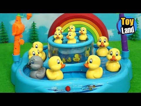 Lucky Duck for Children Fishing Videos for Children Fishing for Kids  TOYLAND