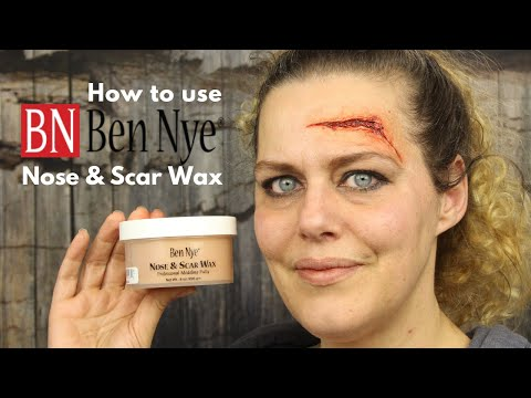 How to use Nose & Scar Wax by Ben Nye | Special Effects Makeup Tutorial | FX wax | Wound Wax