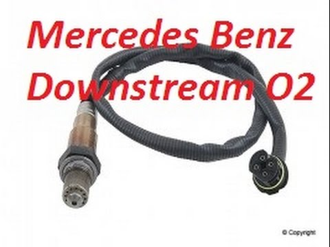 Mercedes Benz Downstream Oxygen Sensor - C230 W203 M271