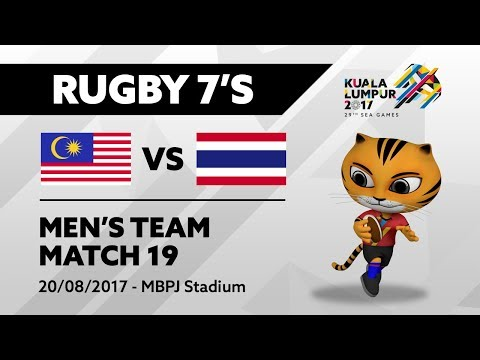 KL2017 Men's Rugby 7's - MAS 🇲🇾 vs THA 🇹🇭 | 20/08/2017