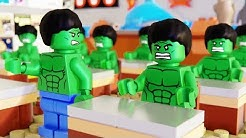 Lego Hulk School Fail
