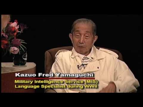 American-Japanese Veteran of WWII: Kazuo Fred Yamaguchi