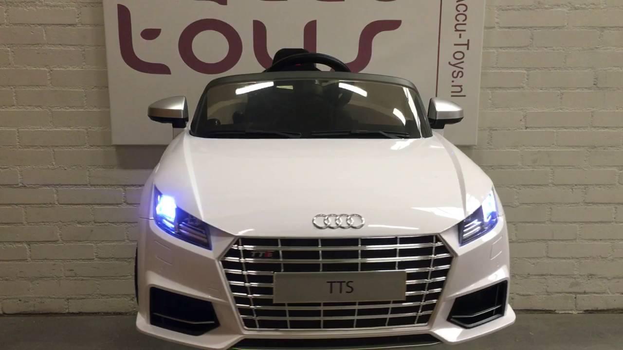 AUDI TT Accu Auto Volt Met Afstandsbediening Bij WwwAccuToys - Audi 6v car