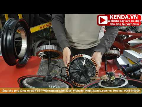 Động cơ xe điện-Kỹ năng Bắt đầu nghề sửa chữa xe điện tập 1