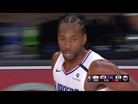 Los Angeles Lakers vs Los Angeles Clippers | July 30, 2020
