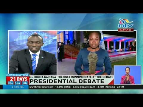 DP William Ruto, Kalonzo Musyoka snub running mates' debate
