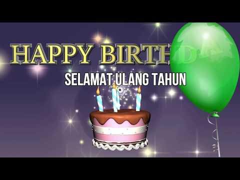 Karaoke Selamat Ulang Tahun Tiup Lilinnya (Lagu Anak Indonesia)