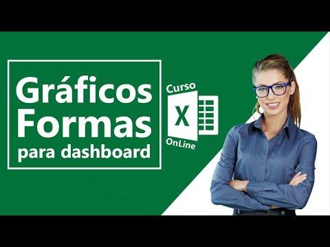 Gráficos e Formas para Dashboard no Excel 2016