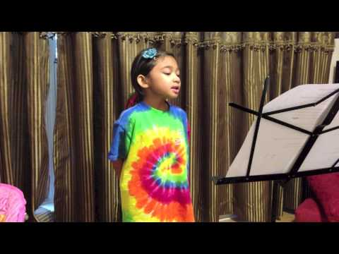 5 Yr Old Singing Dance With My Father (Luther Vandross) - Angelica Hale
