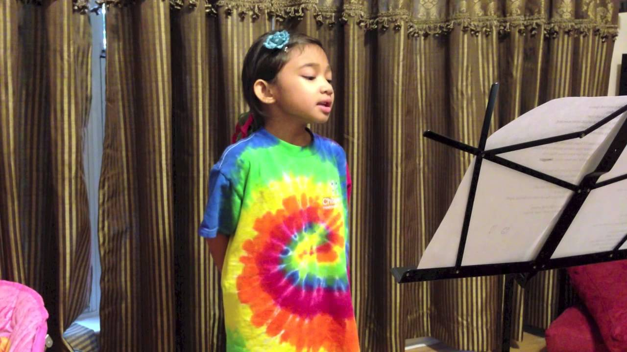 5 Yr Old Singing Dance With My Father (Luther Vandross ...
