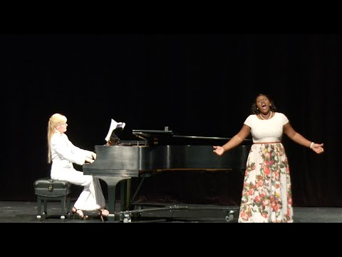 Lindsey Reynolds, Imani Francis, and Emily Sheets Senior Recital