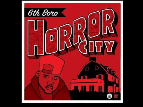 HORROR CITY/6TH BORO LP 2019 CHOPPED HERRING LIMITED VINYL