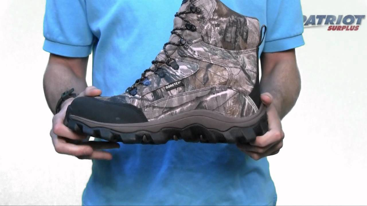Rocky Lynx Realtree AP Waterproof Insulated Hunting Boot - YouTube