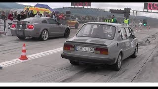 Skoda 120 turbo - Drag Wars