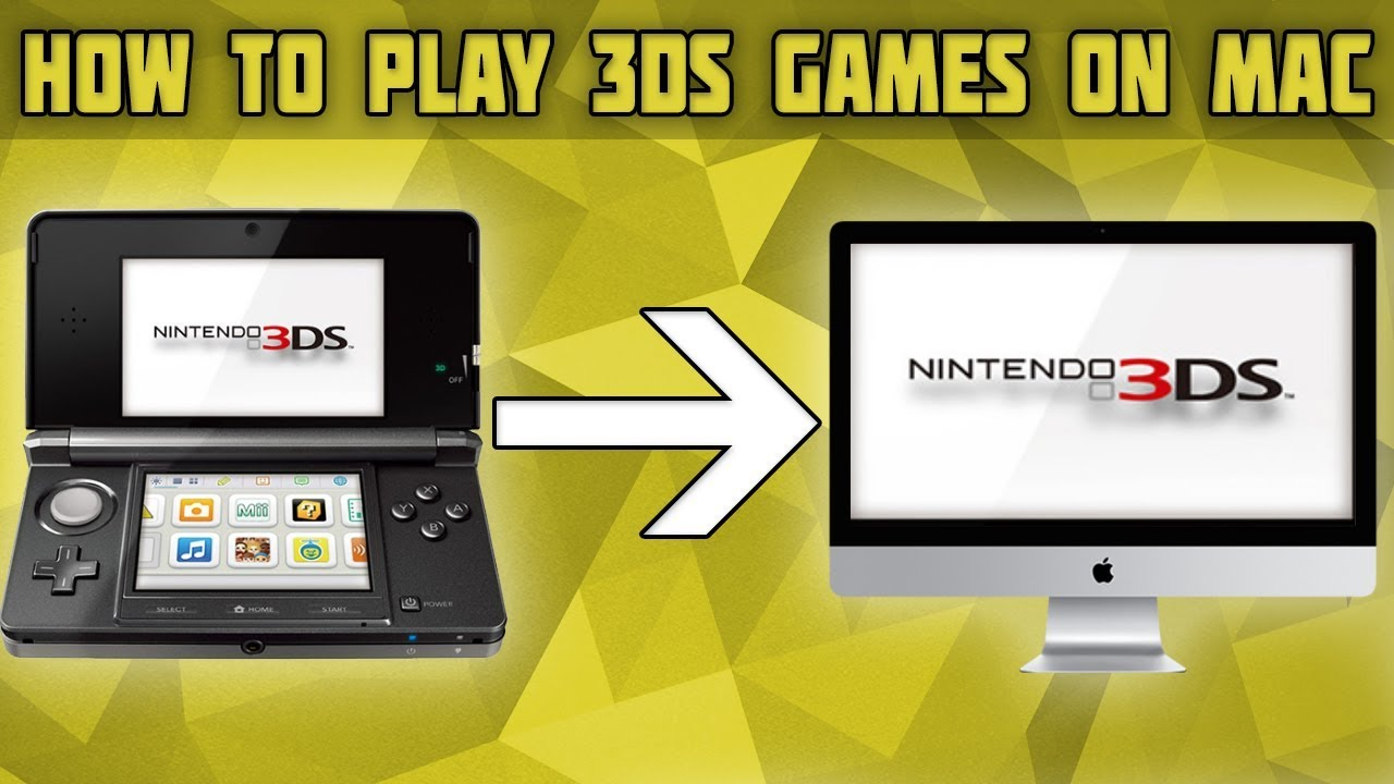How to Play 3DS Games on Mac! 3DS Emulator for mac! Citra Setup for Mac!