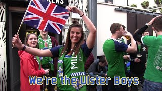 We're the Ulster Boys ... (Northern Ireland - Norway)