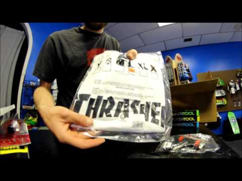 So Stoked Shop Unboxing - THRASHER!