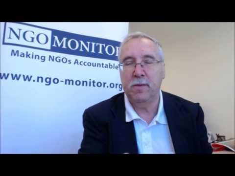 Prof Gerald Steinberg speaking about Alex Ryvchin