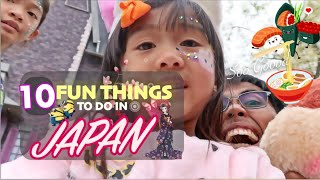 fun things to do in japan
