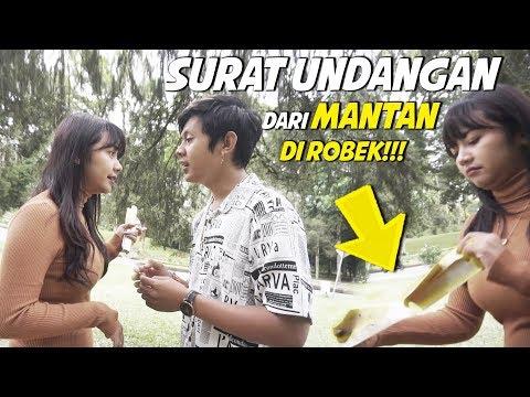 PRANK NGASI SURAT UNDANGAN PERNIKAHAN MANTAN KE PUSPA, MALAH DISOBEK !!!