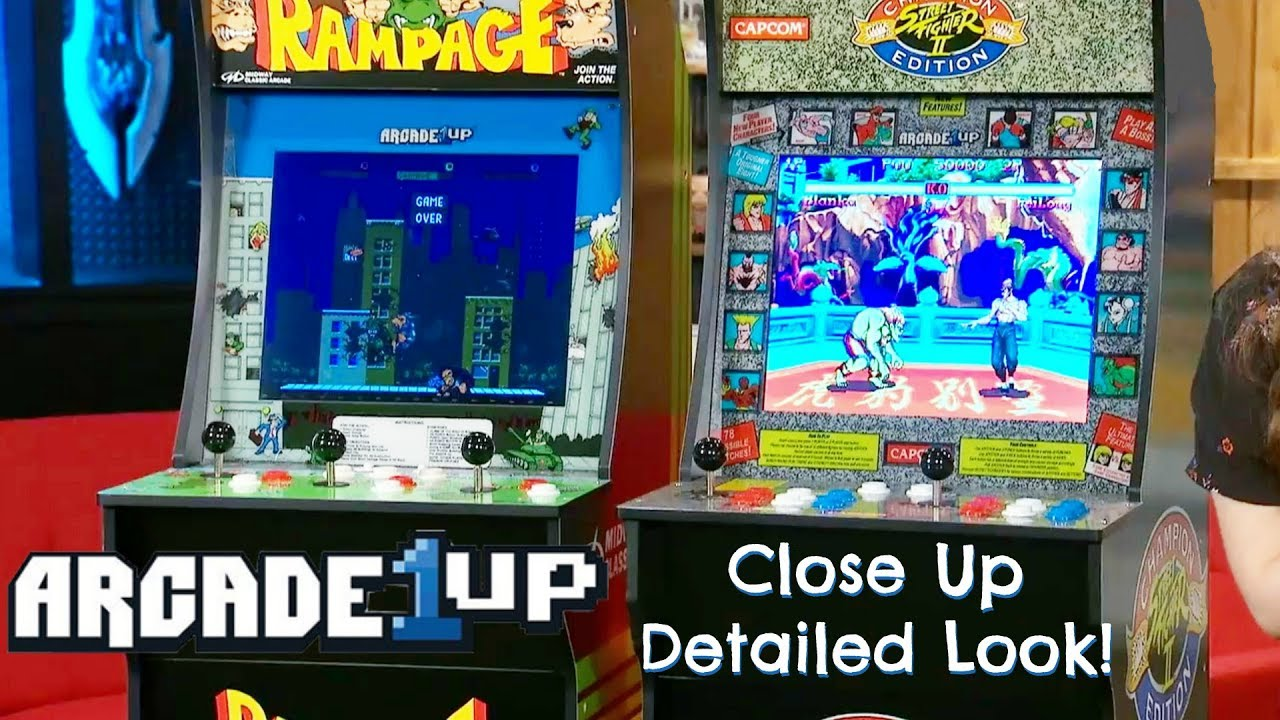 The Most Detailed Look At Arcade1Up Arcade Cabinets So Far