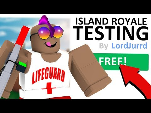 WHEN ISLAND ROYALE WILL BE FREE TO PLAY... (ROBLOX FORTNITE)