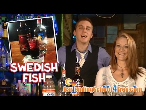 How To Make A Swedish Fish (Drink Recipes)