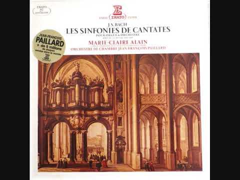 J.S. BACH - SINFONIA CANTATE BWV 29  -  J.F. PAILLARD