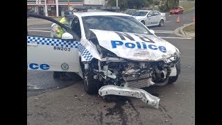 My Car Accident as a Cop
