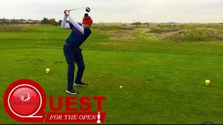 MY LOWEST COMPETITION ROUND SO FAR! #QuestForTheOpen