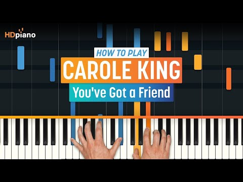 """How To Play """"You've Got a Friend"""" by Carole King 