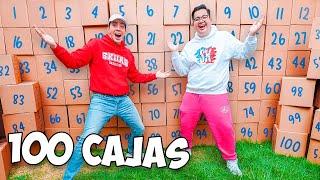 REGALAMOS 100 CAJAS DE DESPENSA EN LA CALLE