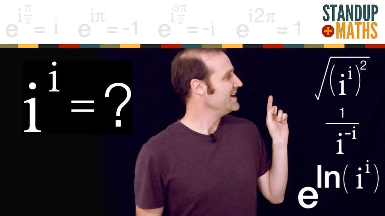 What does i^i = ?