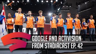 Should you be excited for the new partnership between Google and Activision?   Part of Stadiacast 42