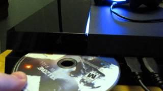PS4 Disk Feeder Noise